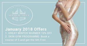 january beauty treatments 2018 facebook advert